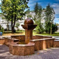 Фонтан, но без воды, Полтава