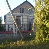 Rozestavěný dům - léto 2010, Решетиловка