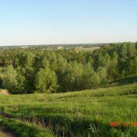 Chutovo view from Kolomak river hills, Чутово