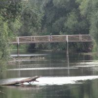 the new(not really) bridge over stinky river, Чутово