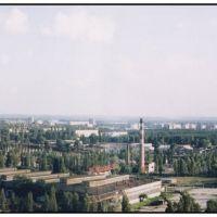 Панорама Комсомольска, Комсомольск