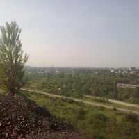 Вид с Западных отвалов, Комсомольск