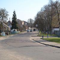 Соборна від пожежної частини до центру, Владимирец