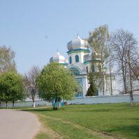 Перед церквою. Before the church., Демидовка