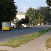 Улица Грушевского, Дубно