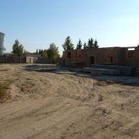 Плац части, ныне строится дом для семей военнослужащих, Дубно