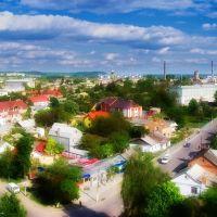 Перетин вулиць Шевченка та Грушевського, Здолбунов