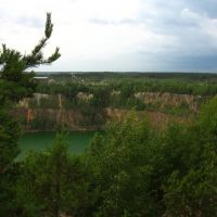 View of the granite quarry, Клесов