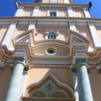Koretsky Holy Trinity nunnery. By the entry to the Trinity church., Корец