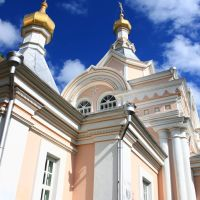 "Korets Holy Trinity nunnery. By the John the Precursor ""warm"" church., Корец"