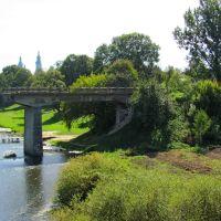 Дорога в никуда...Старый мост восстанавливать не стали-построили новый -рядом., Корец