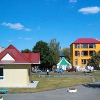Кіоск у центрі Костополя, Костополь