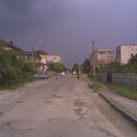 вул. Грушевського (перед грозою:)), Костополь