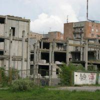 Built ruins, Кузнецовск