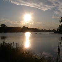 захід сонця над Іквою, Млинов