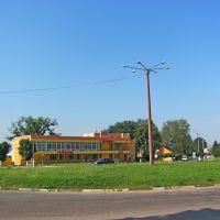 Кольцевая розвязка в пгт. Млинов., Млинов