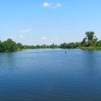 Река Иква в пгт. Млинов., Млинов