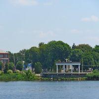 Вид на центр Млинова из парка Ходкевичей., Млинов