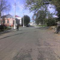 Дорога від парку, Острог