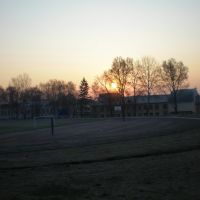 Схід сонця, Стадіон ОА, Острог