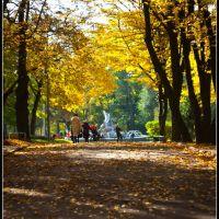 Walking in the autumn ..., Ровно