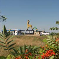 въезд в г.Сарны ( автодорога М-07 Ковель-Киев), Сарны