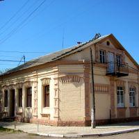Домик на ул. Кирова.На этой улице в 1942г. было еврейское гетто., Сарны