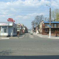 перекрёсток, Ахтырка