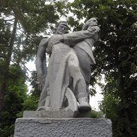 памятник охтирським революціонерам ♦ monument to the revolution fighters, Ахтырка