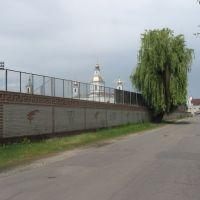 """стіна стадіону """"Нафтовик"""" ♦ stadium wall, Ахтырка"""