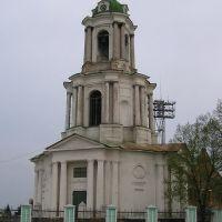 Bell tower of Pokrovskiy cathedral. Дзвінниця Покровського собору. Колокольня Покровского собора, Ахтырка