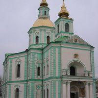 Pokrovskiy cathedral. Покровський собор. Покровский собор., Ахтырка