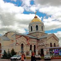 Спасо Преображенская церковь. Ахтирка, Ахтырка