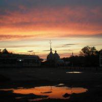 двойной закат, Белополье