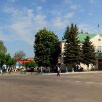 центр міста Білопілля - the central area of the city Bilopillya   2007 р, Белополье