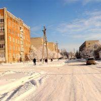 Вулиця Макаренка, зима 2011 року - st. Makarenko , Winter 2011, Белополье