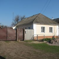 Parents hut in the Shevchenko St., Buryn, Бурынь