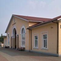 Вокзал ст. Путивль - Putyvl st. house, Бурынь