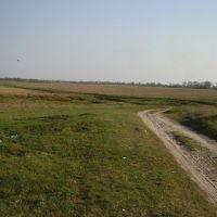 дорога на лугу в с. Знобь-Трубчевская, Знобь-Новгородское