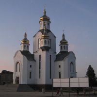 Церковь на углу улиц Успенско-Троицкой и братьев Радченко, Конотоп