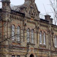 Конотоп. Комплекс железнодорожной больницы. 1895-97гг. Кирпичный стиль., Конотоп