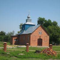 Нова Успенська церква (стара зірвана 1986 року), Лебедин