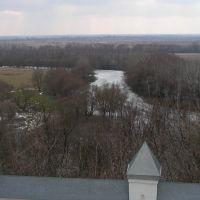 Путивль. Река Сейм с круч Молчанского монастыря, Путивль