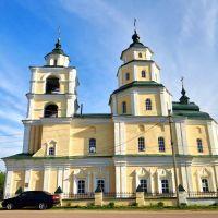 Путивль - церква Миколи Козацького, Putyvl - St. Nicholas church, 1737, Путивль
