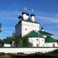 Путивль - Спасо-Преображенський собор, Putyvl - Transfiguration сathedral, 1617-1693, Путивль
