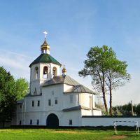 Путивль - Хрестовоздвиженська надбрамна церква, 1697-1707, Путивль