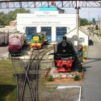 ЖД вокзал, Ромны