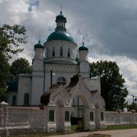 Возле центрального кладбища, Ромны