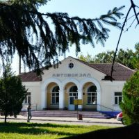 Автовокзал в г.Ромны., Ромны