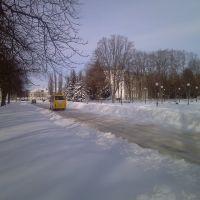 Ромны, зимний город, Ромны